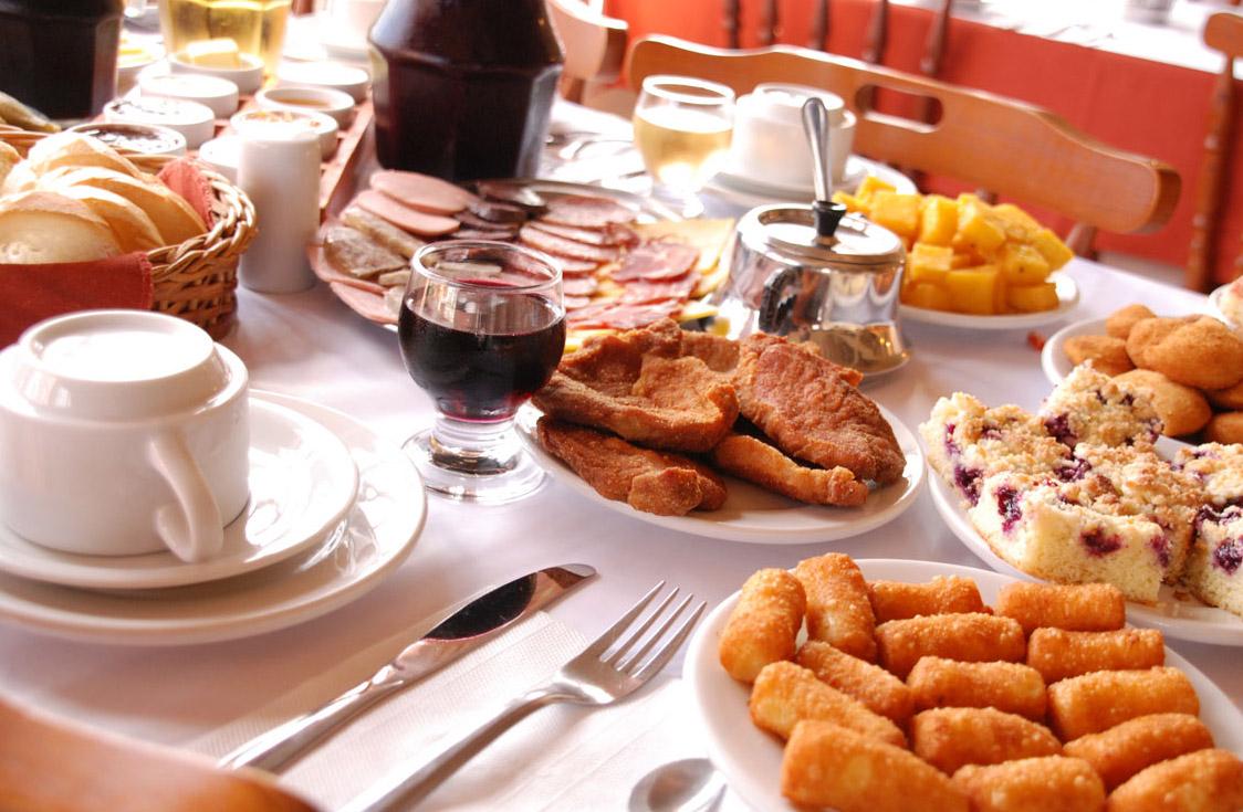 Café colonial de Gramado